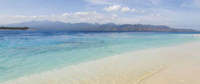 Strand van Lombok