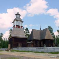 Petäjävesi Kerk - Foto: Raija Lehtonen