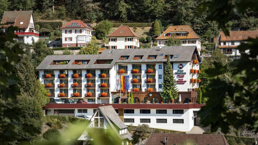 Vooraanzicht hotel, Best Western Schwarzwald Residenz Best Western Plus Schwarzwald Residenz