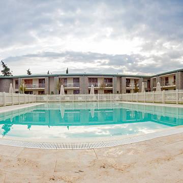 Zwembad 4 Appartementen Chianti Village Morocco
