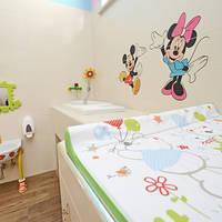 Sanitair gebouw voor kinderen