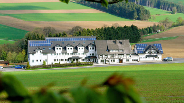 Vooraanzicht Landgasthof Wüllner