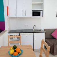 Voorbeeld woonkamer-keuken