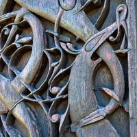 Urnes staafkerk detail