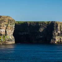 Orkney - kliffen westkust