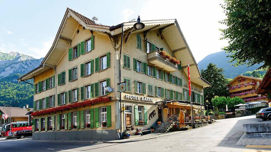 Buitenkant Hotel Bären