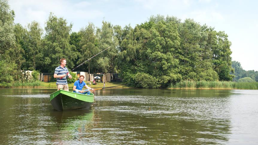 Vissen Vakantiepark Center Parcs De Huttenheugte