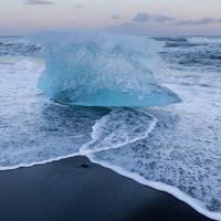 Jökulsarlon gletsjermeer / zee