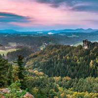 Elbsandsteingebergte - Sächsische Schweiz