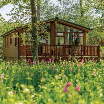 Exterieur 3-kamerwoning Wareham Forest Lodge