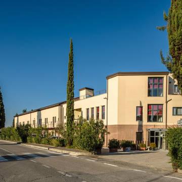 Aanzicht hotel Hotel Montaperti