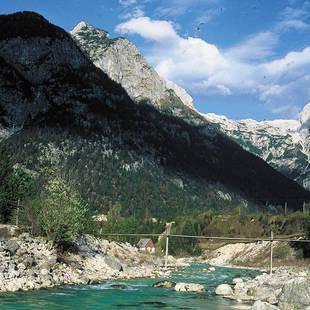 Slovenië Natuur Rivier1