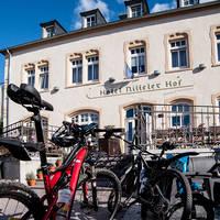 Nitteler Hof met fietsen