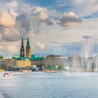 Hamburg met Alstermeer