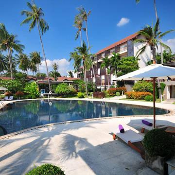 thailand koh samui fenix beach resort pool Mercure Koh Samui Beach Resort