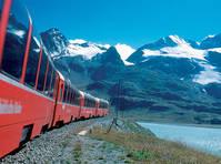 trein van de Rhätische Bahn