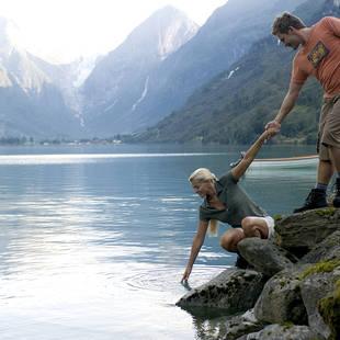 Stel bij Oldevatnet meer