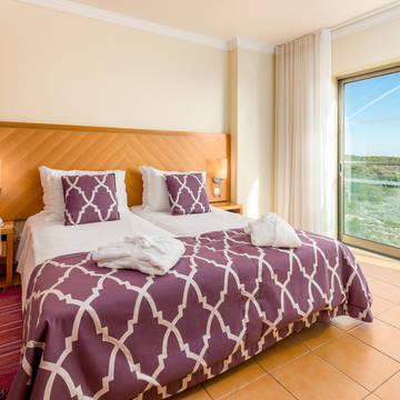 Voorbeeld slaapkamer Appartementen Dunamar