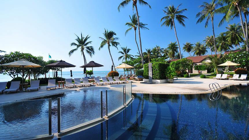 Zwembad Mercure Koh Samui Beach Resort