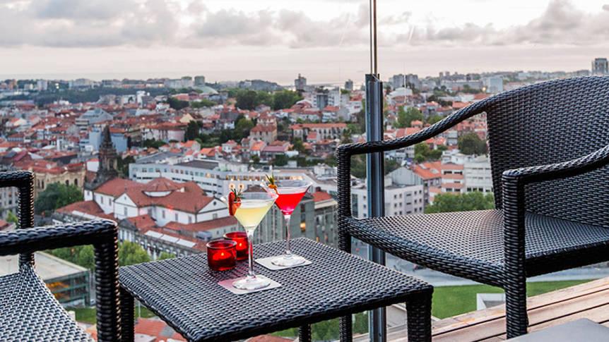 Uitzicht Hotel Dom Henrique