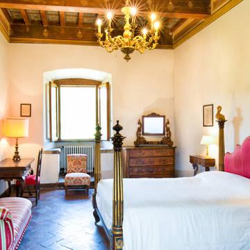 Voorbeeld slaapkamer Villa Pitiana