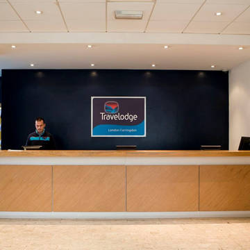 Receptie Hotel Travelodge Kings Cross Royal Scot