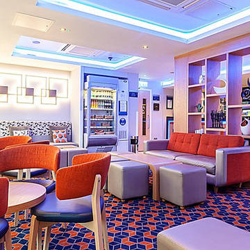 Lounge Hotel Holiday Inn Express Edinburgh Royal Mile