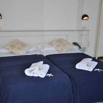 Voorbeeld slaapkamer Residence Du Parc