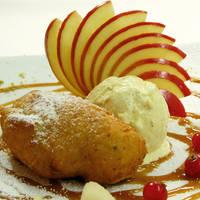 Dessert met appel