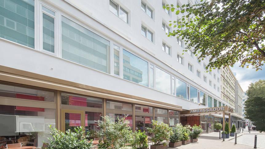 Hotel Sorat Ambassador, Berlijn, Stedentrips, de Jong Intra Vakanties Hotel Sorat Ambassador