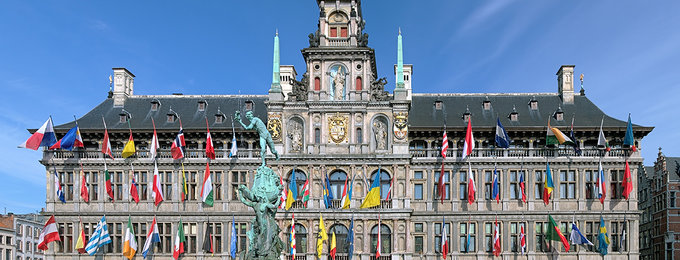 Romantisch Antwerpen