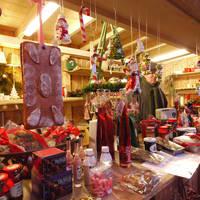 Op de kerstmarkt