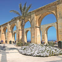 Tuinen uitkijkpunt Valletta