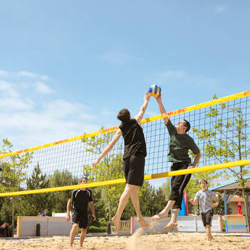 Volleybal Vakantiepark Center Parcs Port Zélande