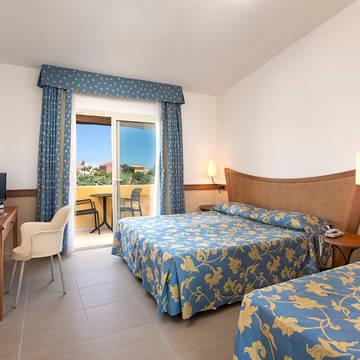 Voorbeeldkamer Classic Hotel San Teodoro