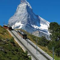 Gornergratbahn met Matterhorn