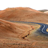 Vulkanisch landschap omgeving Myvatn