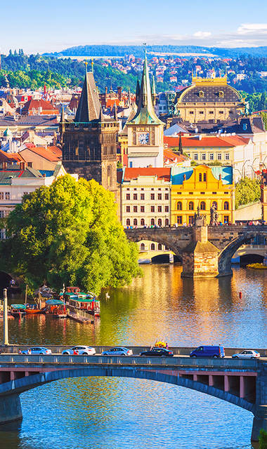 6-daagse busreis of 5-daagse vlieg-busreis Historisch Praag, Hotel Emmy****