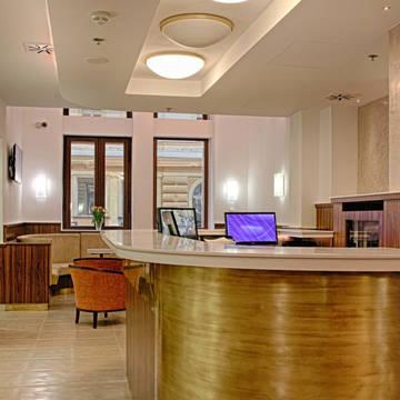 Lobby Hotel Ambiance