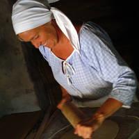 Maihaugen brood bakken