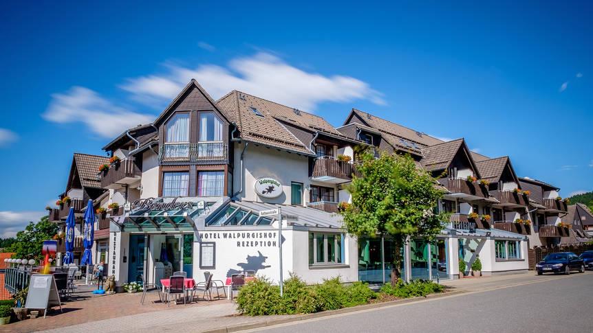 Vooraanzicht Hotel Walpurgishof