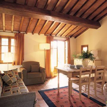 Voorbeeld woongedeelte Appartementen Il Defizio