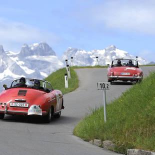 Autorijden in de Alpen