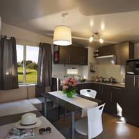 Keuken en zithoek