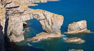 Pembrokeshire National Park - Green Bridge