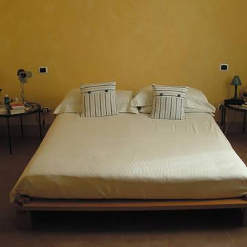 woonvoorbeeld slaapkamer 2 Appartementen Cinque Terre
