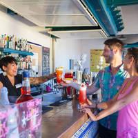 Voorbeeld bar-terras