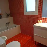 Dassia Beach - Voorbeeld badkamer
