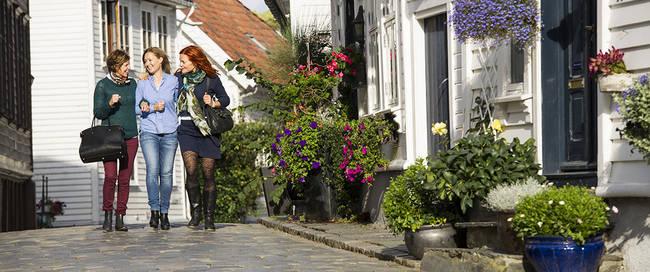 Oud Stavanger - Foto: CH