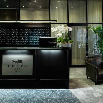 Receptie Hotel Freys